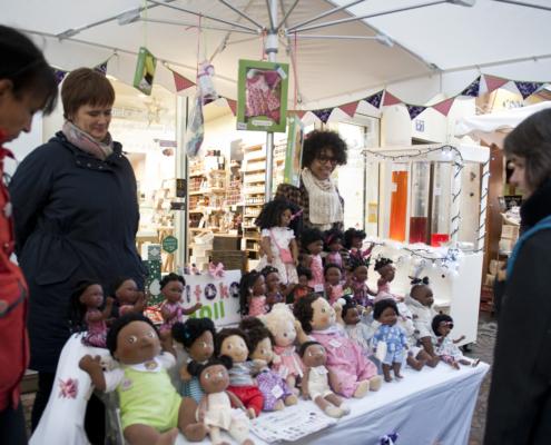 Kitoko Doll à la foire Saint André