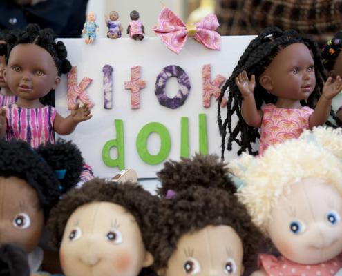 Les Kitoko Doll au festival parisien de la poupée