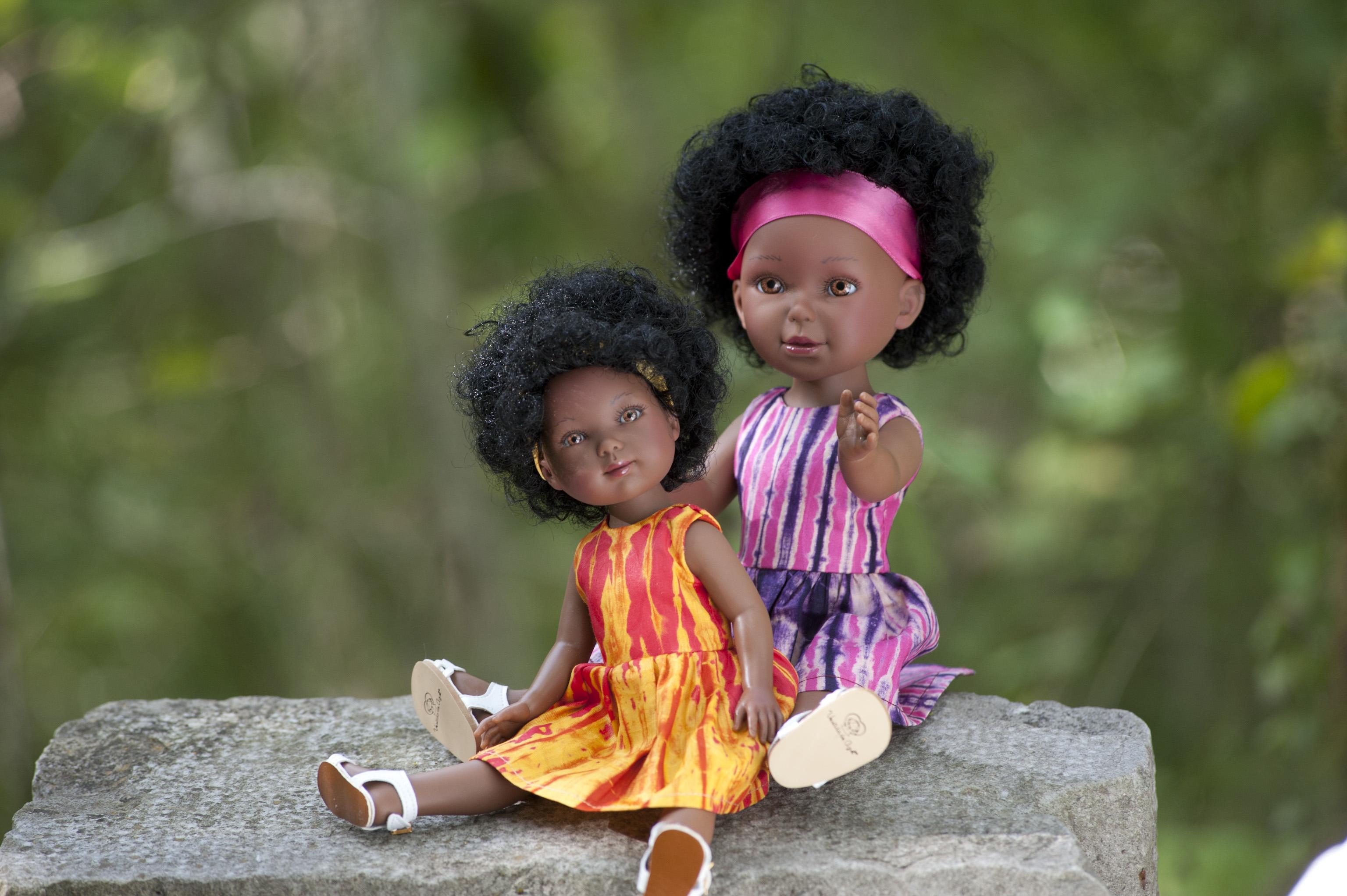 Keyana et Rowane _ Kitoko Doll