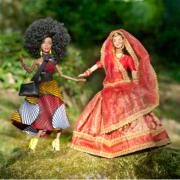poupées mannequins indienne et africaine