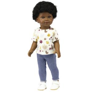 Barak poupée grand garçon noir